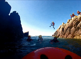 Coasteering Party